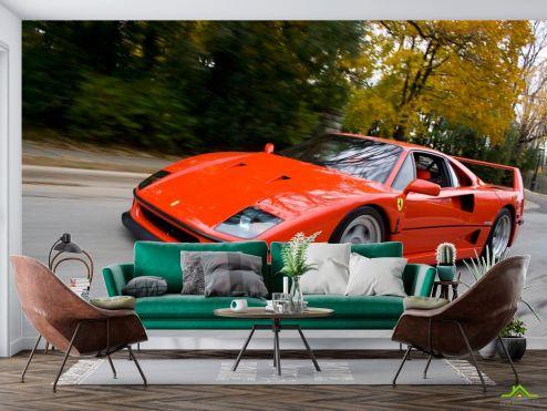 Фотошпалери автомобілі Фотообои Ferrari F40