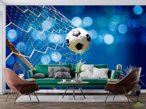 Спорт Фотообои Сетка с мячем