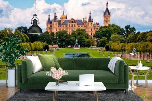 Каталог фотообоев Фотообои Швейцарский замок