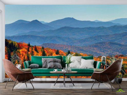 Природа Фотообои Осення сказка гор