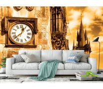Фотообои Часы на башне