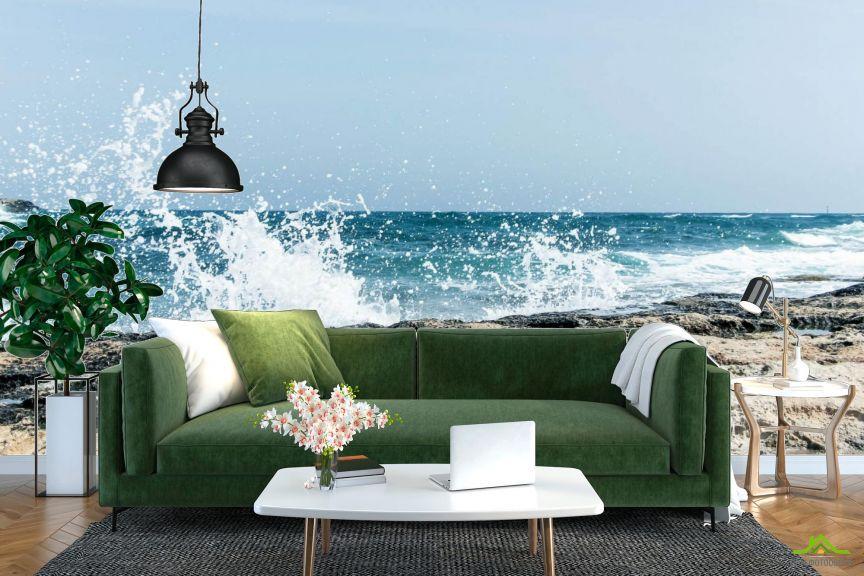 Фотообои Морская волна