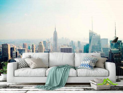 обои Нью Йорк Фотообои New York высотки