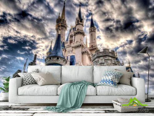 Архитектура Фотообои Облачный замок