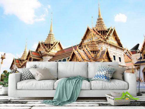 обои Архитектура Фотообои Замок восточного стиля