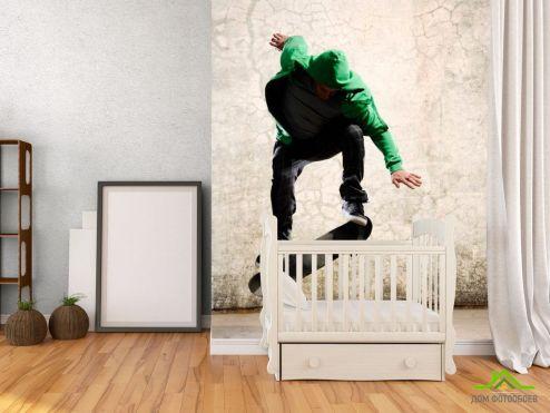 Каталог фотообоев Фотообои Скейтбордист