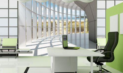 Фотообои в интерьере гостиной с фото - Фотообои Корридор с шарами и окном