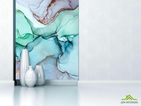 Фотообои Fluid art по выгодной цене Фотообои Яркий Fluid art