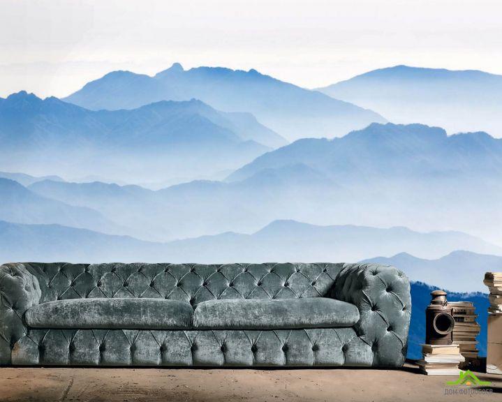 Фотообои Синие горы
