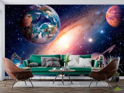 Космос Фотообои Планеты