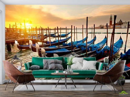 Венеция Фотообои Гандолы