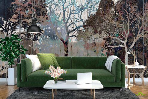 Эксклюзивные  Фотообои Дизайнерские деревья