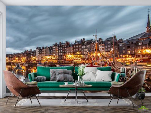Фотообои Город по выгодной цене Фотообои Вечерняя набережная