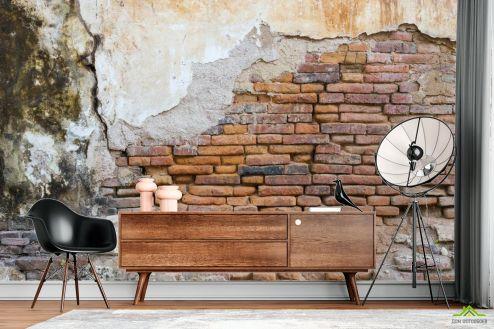 лофт Фотообои Кирпичная стена ретро
