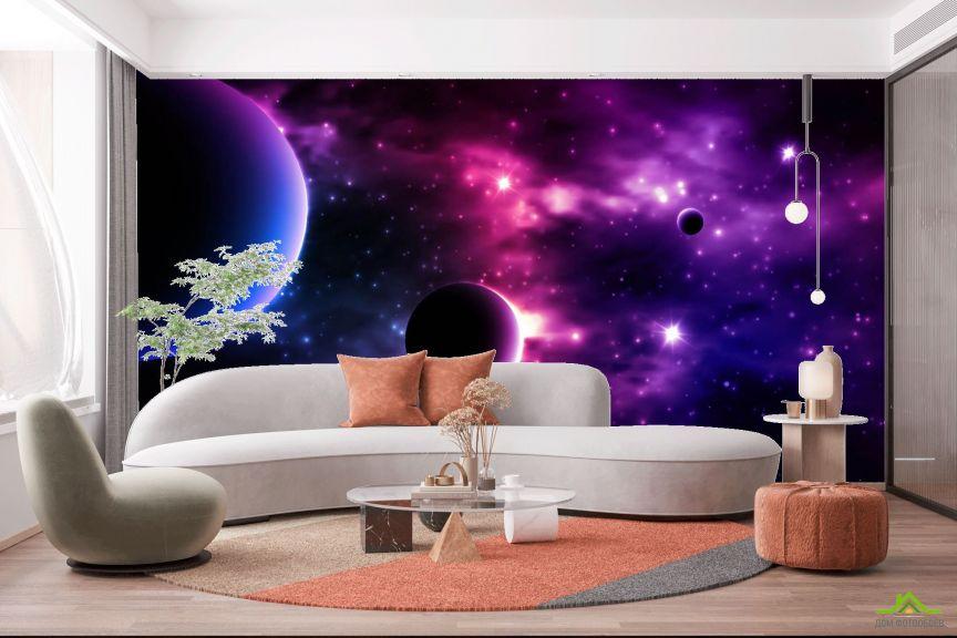 Фотообои Яркий космос