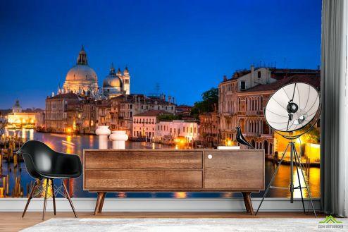 Фотообои Венеция по выгодной цене Фотообои Ночная Венеция