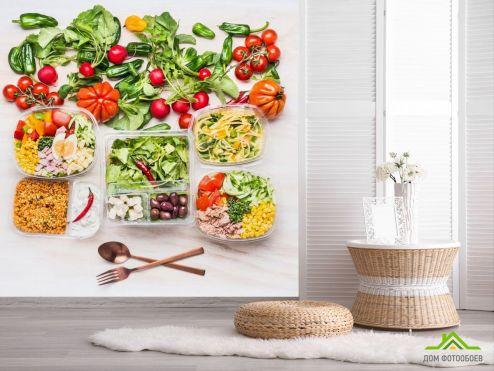 обои Еда и напитки Фотообои еда и салаты