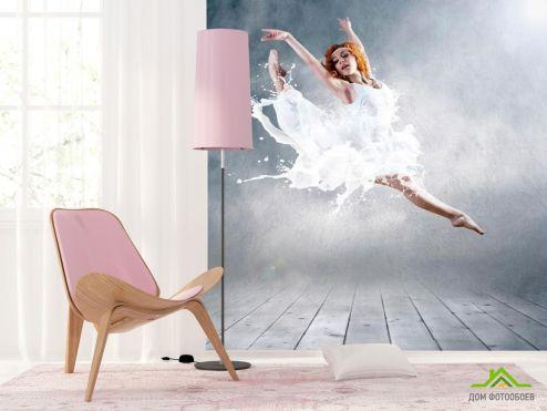Каталог фотообоев Фотообои Балерина