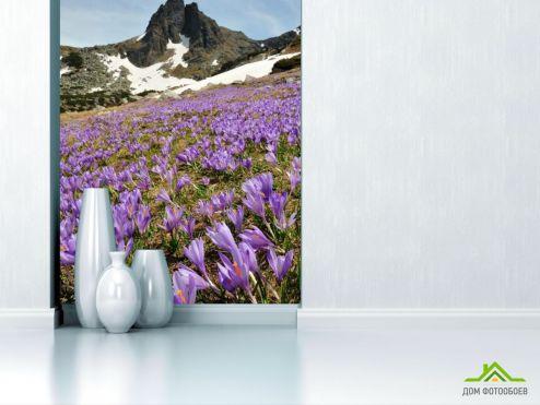 обои Природа Фотообои Лесная сказка, цветы