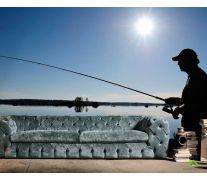Фотообои Рыбалка на реке