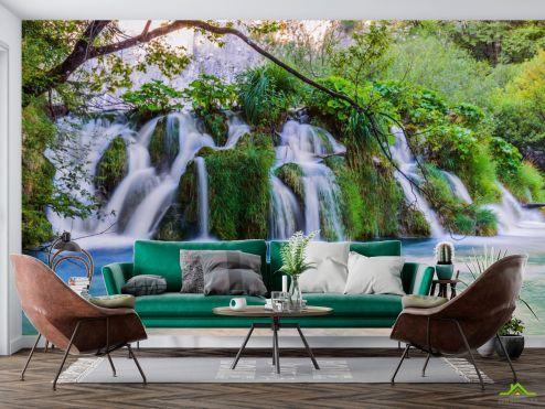 Фотообои Природа по выгодной цене Фотообои Пейзажный водопад
