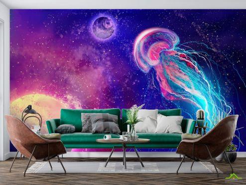 Космос Фотообои Космическая медуза