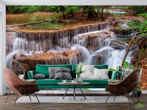 Природа Фотообои Каскад, вода
