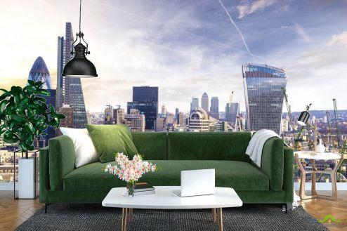 Фотообои Город по выгодной цене Фотообои Вид на Лондон