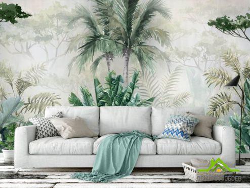 Эксклюзивные  Фотообои Зеленые джунгли