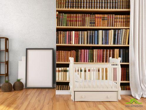 Фотошпалери Книжкові полиці Книжкові полиці