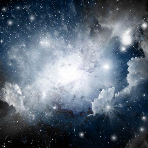 на потолок Фотообои Космос для потолка