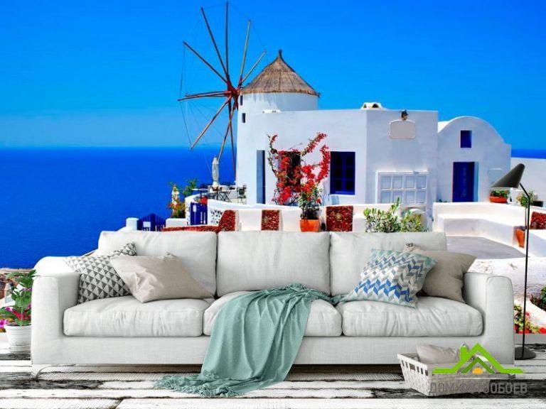 Фотообои о. Санторини, Греция
