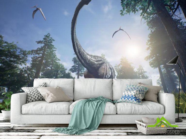 Фотообои динозавр