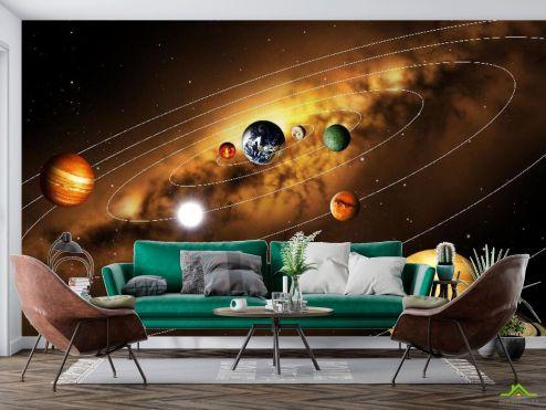 Космос Фотообои Солнечная система