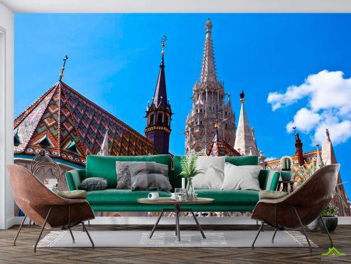 Каталог фотообоев Фотообои Церковный замок