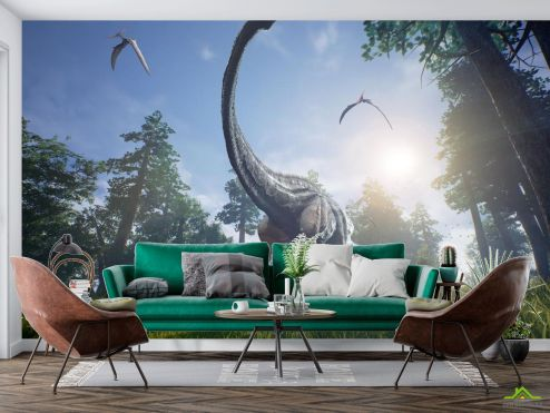 Природа Фотообои динозавр