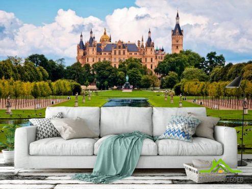 обои Замок Фотообои Швейцарский замок