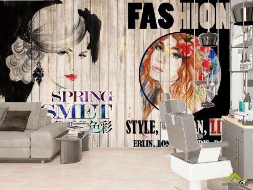 в салон красоты Фотообои Для парикмахерской