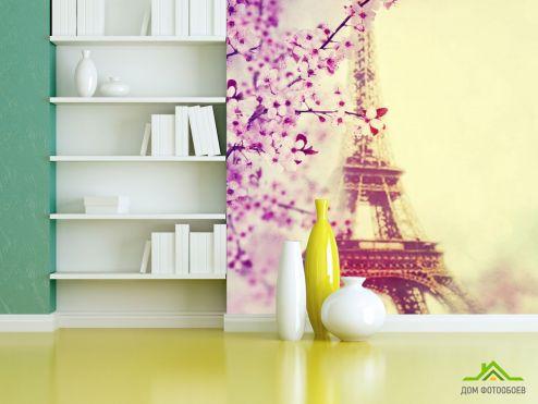 обои Париж Фотообои весна в Париже