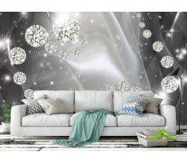 Фотообои Бриллиантовые шары