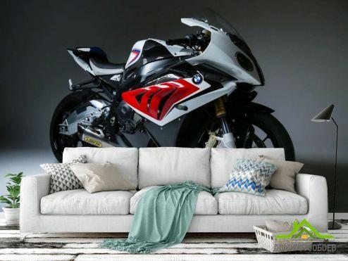 Фотообои Транспорт по выгодной цене Фотообои Мотоцикл