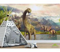 Фотообои Динозавры в природе