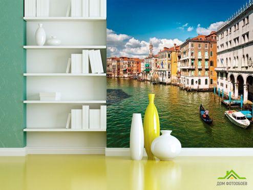 Фотообои Венеция по выгодной цене Фотообои Венеция - город на воде