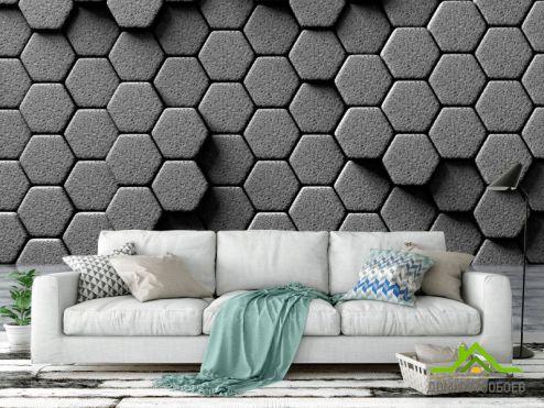 3D объемные Фотообои 3д стена