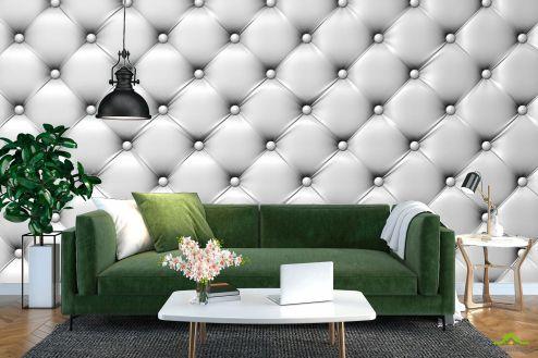 3Д  Фотообои Белая драпировка стены