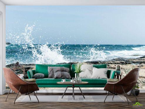 Фотообои Природа по выгодной цене Фотообои Морская волна