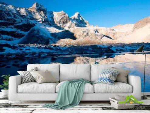 Горы Фотообои Много гор