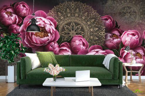 Фотообои Цветы по выгодной цене Фотообои Цветы и восток