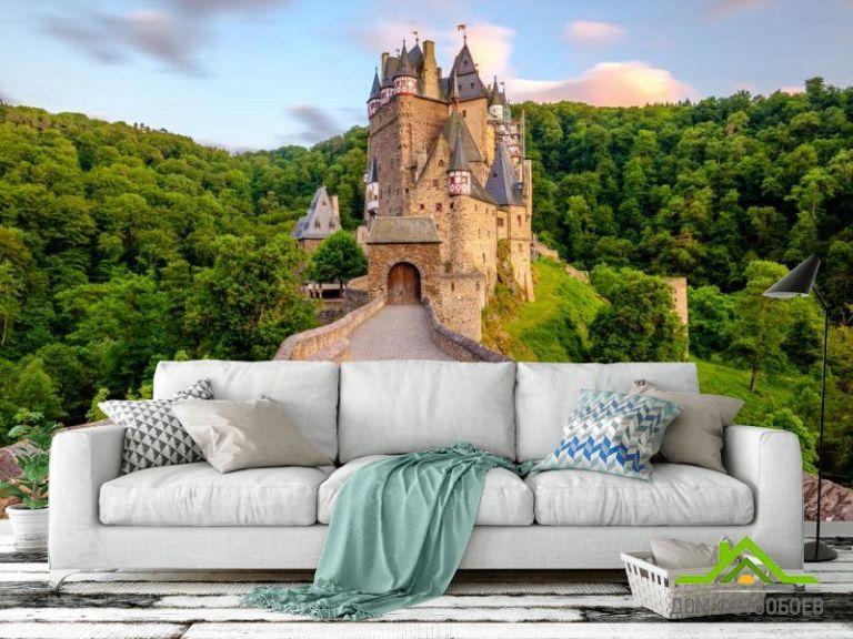 Фотообои дорога к замку