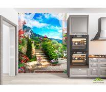 Фотообои в кухню Горы